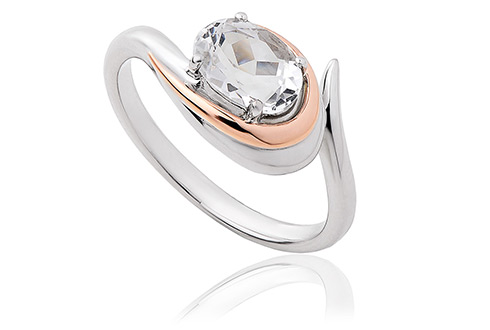 Serenade White Topaz Ring