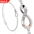 Eternity Diamond Drop Bracelet *SALE*