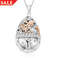 Floral Egg Locket *SALE*