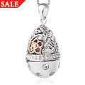 Floral Egg Locket Small *SALE*