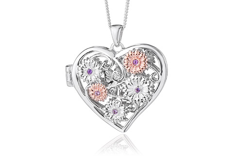Fairy amethyst pendant clogau gold fairy amethyst pendant mozeypictures Images