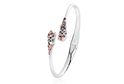 HRP Black Mother of Pearl Bangle *SALE*