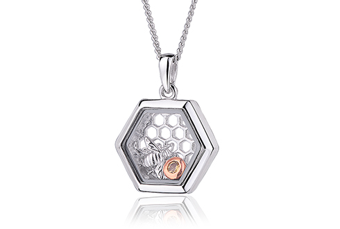 Honey Bee Inner Charm Pendant