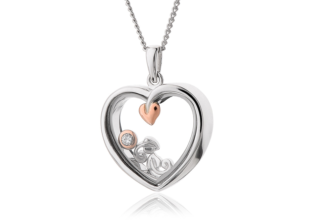 Tree of Life Heart Inner Charm Pendant