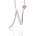 Tree of Life Initials Necklace - Letter N