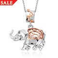 Indian Elephant Journey Pendant