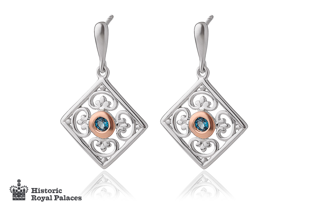 Kensington Palace Drop Earrings