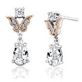 Kensington Fife Tiara Drop Earrings