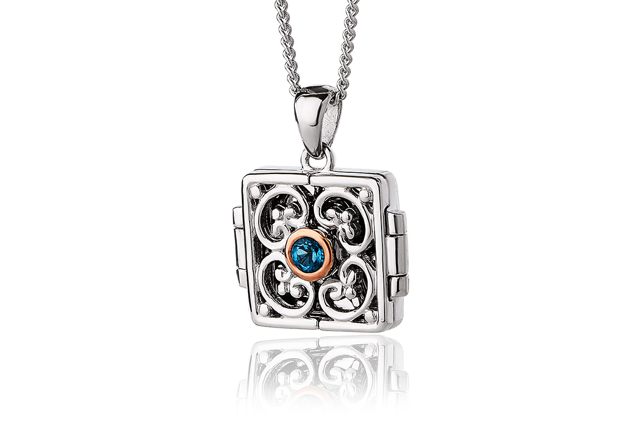 Kensington Blue Topaz Locket