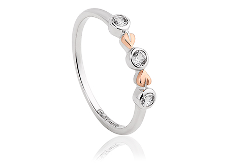 Tree of Life Clover Ring