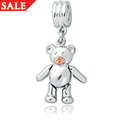 Teddy Bear Bead Charm