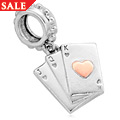 Playing Cards Milestone Charm *SALE*