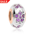 Amethyst Multi Star Bead Charm *SALE*