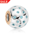 Blue Topaz Bead Charm *SALE*