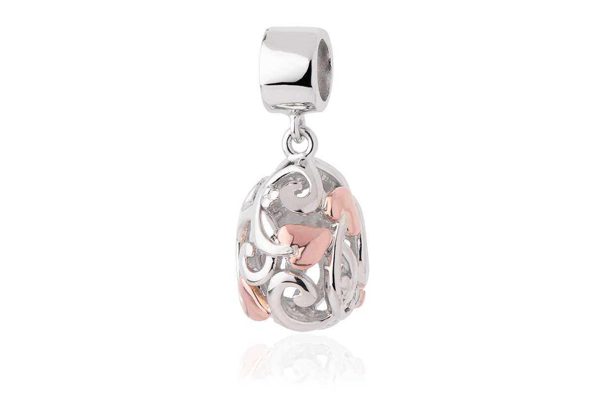 Filigree Drop Milestones Bead Charm