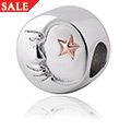 Man in the Moon Milestones Bead Charm