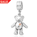 Teddy Bear Milestones Bead Charm *SALE*