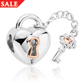 Heart and Key Milestones<sup>&reg;</sup> Bead Charm *SALE*