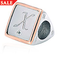 Letter X Milestones Bead Charm *SALE*