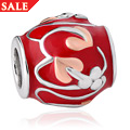 Tree of Life Red Enamel Milestones Bead Charm *SALE*