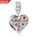 Fairy Amethyst Heart Charm *SALE*