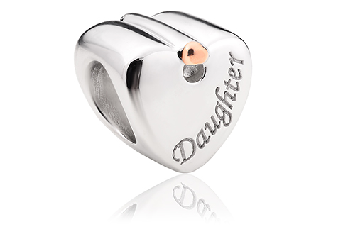 Daughter Heart Charm *SALE*