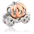 Pumpkin Carriage Milestones® Charm