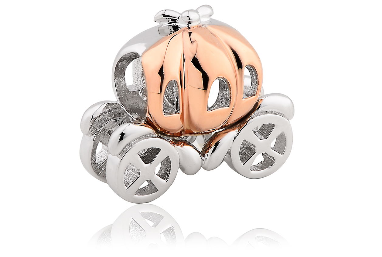 Pumpkin Carriage Milestones Charm