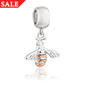 Honey Bee Milestones Bead Charm