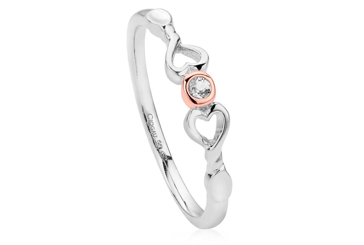 Lovespoon Affinity Stacking Ring