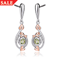 Tree of Life Love Vine Drop Earrings