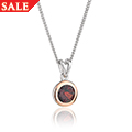 Garnet January Birthstone Pendant *SALE*