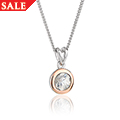 Zircon April Birthstone Pendant *SALE*