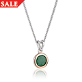Emerald May Birthstone Pendant *SALE*