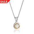 Mother of Pearl July Birthstone Pendant *SALE*