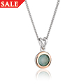 Agate September Birthstone Pendant *SALE*