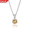Citrine November Birthstone Pendant *SALE*