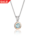 Topaz December Birthstone Pendant *SALE*