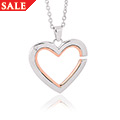 Mother and Daughter Small Heart Pendant *SALE*