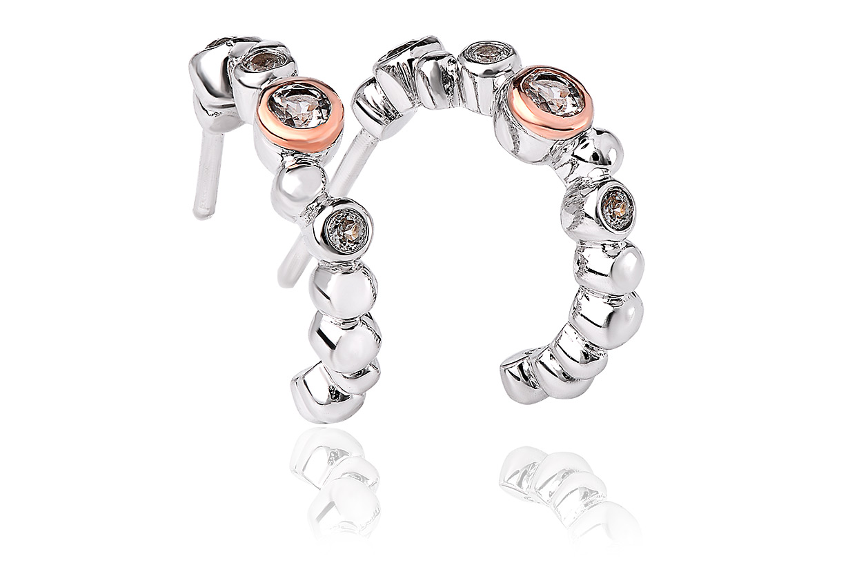 Clogau Celebration Creole Earrings