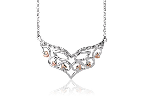 topaz aries the boutique white necklace showcase satya