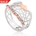 White Peacock Ring *SALE*