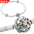Tree of Life Milestone Bracelet Blue enamel (17cm)