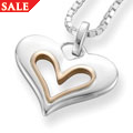 Always In My Heart Heart Pendant *SALE*