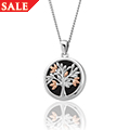 Tree of Life Black Onyx Pendant