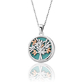 Tree of Life Turquoise Pendant