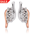 The Spirit of Christmas Swarovski Topaz Earrings *SALE*