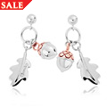 Royal Clogau Oak Drop Earrings