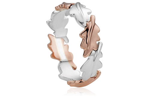 Royal Clogau Oak Ring