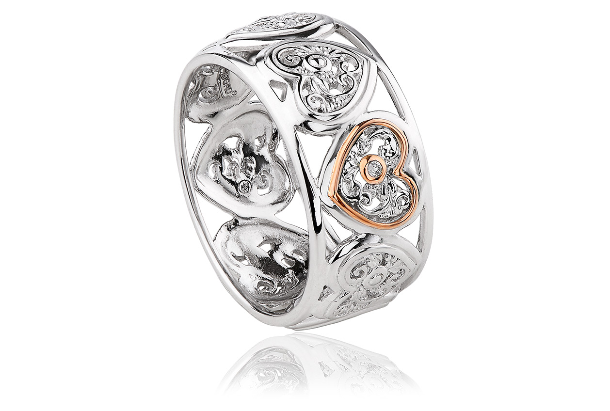 Tree of Life One Diamond Ring